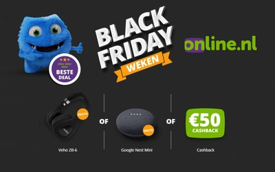 Online.nl; Black Friday deal 2020!